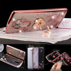 New Luxury Metal Stand Slim Gel Silicone Back Soft Phone Case Cover For LG LV3