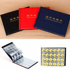Coin Collection Book Album For 240 Pcs Coins Portable Red Black Blue