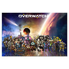 Overwatch Poster All Heroes with Orisa, Doomfist Overwatch Blizzard Game Poster