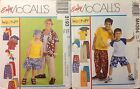 McCall's 3193, 4364  Boy's Coordinates Sizes Med, Lrg, Xlg     You Pick  NIP