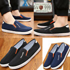 Old Beijing cloth shoes men's spring/summer breathable sandals canvas loafers
