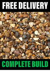 10 x Trade Pack Gravel/Shingle Ideal for Driveways (Decorative) 10mm/20mm 25kg
