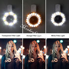 Selfie Light Dimmable Colorful LED Flash Light with Camera Wide Angle Micro Lens