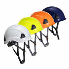 SAFETY HELMET,SCAFFOLDING,HEIGHT WORKING,CONSTRUCTION,ABSEILING,RESCUE,HARD HAT