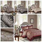 JACQUARD 3 Piece Paisley Pattern Quilted Bedspread:Comforter set + 2 Pillow Case