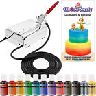 U.S. Cake Supply Complete Cake Decorating Airbrush Kit Compr