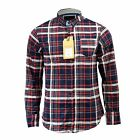 Mens Shirt Brave Soul Flannel Brushed Cotton Long Sleeve Casual Top Check Shirt