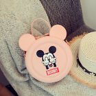 Circular Round Small Girl Kids Women Lady Pink Shoulder Bag Handbag Tote Cartoon