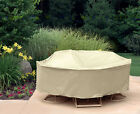 """Waterproof Outdoor Table&Chair Patio Furniture Round Cover Protection 80"""" Ø"""