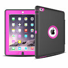 Shockproof Heavy Duty Hard Case & Smart Cover for Apple iPad 2 3 4