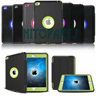 Shockproof Heavy Duty Hard Case & Smart Cover For Apple Ipad 2 3 4 Mini Pro 9.7