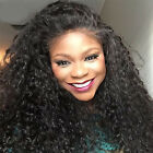 Brazilian Curly Real Human Hair Wigs Full Lace/ Lace Front Wigs Full Head Cap