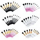 New 10pcs/Kit Cosmetic Makeup Brushes Set Foundation Tool Blending Pencil Brush