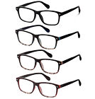 5 Pack Spring Hinged Reading Glasses for Men and Women Include Sun Reader