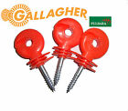 Screw-in ring Insulators Electric fence Red High Quality Gallagher/Pulsara range