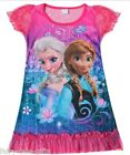 DISNEY FROZEN NIGHTDRESS/ NIGHTGOWN/NIGHTIE 5-6YRS - New