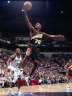 Gary Payton Layup Seattle SuperSonics Huge Giant Print POSTER Affiche on eBay