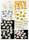 10pcs Kawaii Cabochons Resin Flatbacks Scrapbooking Craft Embellishment Decor