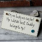 Personalised Daddy Gifts Dad Birthday Father's Day Christmas Grandad Plaque