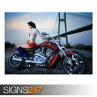 HARLEY DAVIDSON (AC354) BIKE POSTER - Photo Picture Poster Print Art A0 to A4 €7.09 EUR on eBay