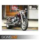 HARLEY DAVIDSON MOTORCYCLE (AC392) BIKE POSTER - Poster Print Art A0 A1 A2 A3 £3.55 GBP on eBay