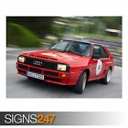 AUDI SPORT QUATTRO CAR (AB823) CAR POSTER - Photo Poster Print Art * All Sizes