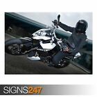 2008 KTM 690 DUKE 1 (AC514) BIKE POSTER - Photo Poster Print Art A0 A1 A2 A3 A4