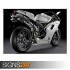 DUCATI 1198 SUPERBIKE 3 (AC528) BIKE POSTER - Photo Poster Print Art * All Sizes