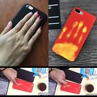 DIY Discoloration Thermal Heat Induction Funny Cover Case For iPhone 6 6S 7 Plus