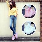 Fashion Women's Casual Shoes Breathable Athletic Shoes Loafer Sneakers