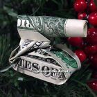 MONEY ORIGAMI Art Dollar Bill Cash Sculptors Bank Note Handmade V.4