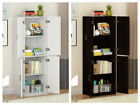 Tall Storage Cabinet Organizer Bedroom Closet Kitchen Pantry Cupboard Furniture