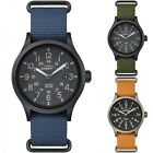 Expedition Outdoor Watch | Men's Nylon Strap Black Dial 24 HR Indiglo | Timex