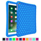 For New iPad 9.7'' 2017 / Air 1 2 Silicone Case Cover Kids Friendly Shock Proof