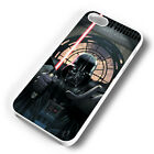 DARTH VADER THE FORCE RUBBER PHONE CASE COVER FITS IPHONE 4 5 6 7 (#WR)