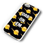 BLCK DAB ON EM EMOJIS RUBBER PHONE CASE COVER FITS IPHONE 4 5 6 7 (#WR)