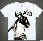 One piece law Casual short sleeved Unisex Clothing T-shirt SL03 cool
