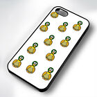 FUNNY DUCK PATTERN RUBBER PHONE CASE COVER FITS IPHONE 4 5 6 7 (#BR)