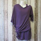 BENCH Double Layer Tunic PURPLE Size S 8(01992996 -5) #