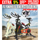 Spin Bike Flywheel Fitness Commercial Exercise Home Gym Workout Bicycle  AU