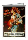 BOB MARLEY POSTER Personalised A6 or A5 Cards Birthday Greeting Anniversary K1