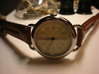 Mens SWISS ARMY Vintage 70's/80's Calvary All Swiss Tritium Dial 37mm Leather