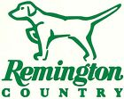 "12"" REMINGTON COUNTRY w/ DOG IMAGE  Vinyl / Decal ~ U pick Color(23 Different)"