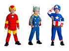 MARVEL CLASSIC TODDLER COSTUME! FLEECE JUMPSUIT AVENGERS BOY'S NEW