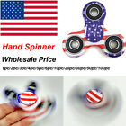 Lots Tri-Spinner Fidget Toy EDC Hand Finger Spinner Desk Focus American Flag USA
