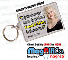 Dolly Parton Quotes Keyring - Great stocking filler for women -  Food Blonde Men