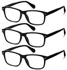 2 Pack of Classic Style Bifocal Readers Spring Hinge Reading Glasses