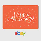 Kyпить eBay Digital Gift Card - Happy Anniversary Orange -  Email delivery на еВаy.соm