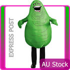 Mens Ghostbusters Inflatable Slimer Costume 80s 1980s Funny Hallowee Fancy Dress