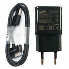 Black Genuine EU Fast Wall Charger Adapter+2M 30Pin Cable For Samsung Galaxy Tab
